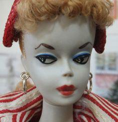 1959 #1 Sample Dressed Barbie Doll.