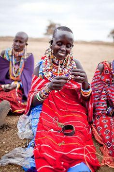 #fashiontakesaction Raven + Lily: Fair Trade Maasai Jewelry | Darling Magazine