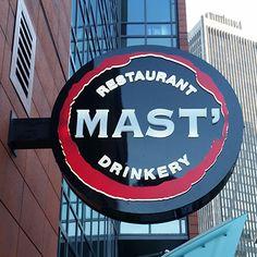 Mast Italian Restaurant, Province Street, Boston, MA (get the O'MAST)