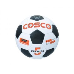 Product Description  The Cosco Premier Football Designed for beginners and is entry level players.  Features  Synthetic Hand Sewn ball.  Designed for beginners and is entry level players.  Good shape retention and good durability.  Fitted with latex bladder for good rebound.  Available in size 5 & 4.