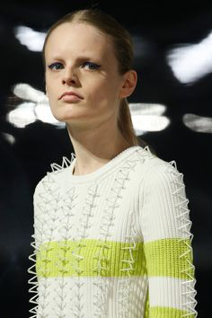 Kenzo | Fall 2014 Ready-to-Wear Collection | Style.com...how  delicat and fresh...design !