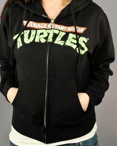 Ninja Turtles jacket.