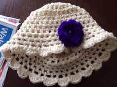 Items similar to Crochet hat with flower made to order on Etsy Esty, Flower Making, Loom, Crochet Hats, Beanie, Trending Outfits, Unique Jewelry, Store, Handmade Gifts