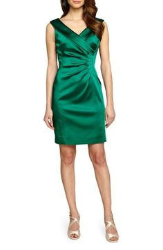 This emerald is beautiful and perfect for any event this fall.