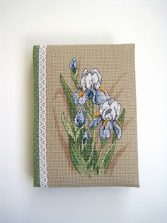 cross stitch Dimensions вышивка блокнот ручной работы hand made notebook