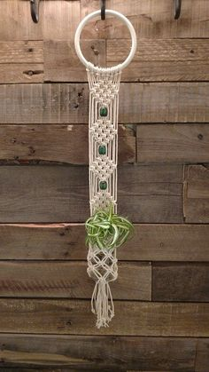 Items similar to Macrame wall hanging, Macrame plant hanger on EtsyThe Macrame plant hanger is one of many forms of yarn, and it regains the attention it deserves. Macrame plant hangers are a great way to provide retro quality to your home while cont Macrame Wall Hanging Patterns, Macrame Hanging Planter, Macrame Plant Holder, Macrame Patterns, Hanging Plants, Etsy Macrame, Macrame Art, Macrame Projects, Macrame Knots