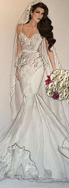 59 New ideas for fashion dresses illustration moda Fashion Model Poses, Fashion Photography Poses, Fashion Models, Wedding Dress Illustrations, Wedding Dress Sketches, Fashion Illustrations, Fashion Art, Girl Fashion, Fashion Dresses