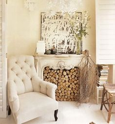 what I should do with my fireplace in the summer