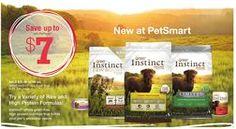 Instinct® Dog & Cat Food, 4-25.3 lb. bags from QA Petsmart USA $15.99