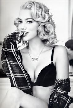Amber Heard for Guess