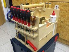 HolzwurmTom: L-Boxx mit Werkzeugtrageeinsatz (Maße zum Nachbau hinzugefügt)