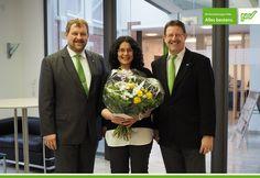 Jaqueline Becker, herzlichen Glückwunsch!