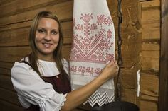 Orthodox Heritage Eastern Finland, and particularly Karelia, has a long tradition of Orthodox religious and other influences from beyond the border. These are still apparent in everyday life, for example in what people eat. Meanwhile In Finland, Beyond The Border, Birches, Orthodox Christianity, Folk Embroidery, People Eating, My Heritage, World Cultures, Folklore