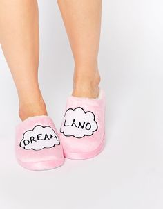Image 1 of Daisy Street Dreamland Slippers