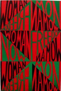 Faith  Ringgold: Woman Freedom Now