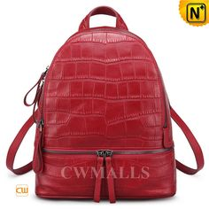 CWMALLS Womens Embossed Leather Backpack CW206207 Designer women's leather backpack in rich full grain leather with Coro embossed perfect for every day, leather laptop backpack finished with a front zip pocket, top zip closure and buckled leather straps that adjust to the perfect fit. www.cwmalls.com PayPal Available (Price: $177.89) Email:sales@cwmalls.com