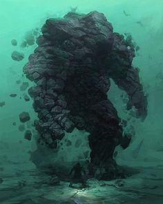 Rock monster or earth elemental