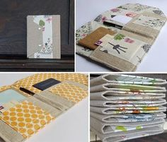 These padfolios come from a little etsy shop called Downstairs Designs. They're wonderful if you want hold onto little keepsakes as well as jotting down your thoughts.