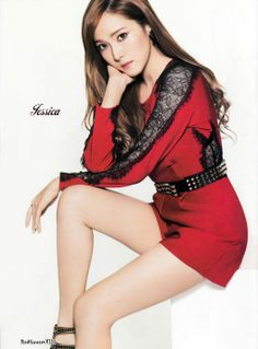 Jessica Jung Sooyeon of Girls' Generation #SNSD for Sone Note November 2013 Issue