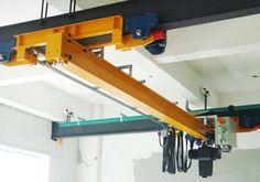 2 ton overhead crane is a kind of small bridge crane. It is widely used in the warehouse, garage and workshop etc. Garage Tools, Garage Storage, Garage Ideas, Cranes For Sale, Crane Lift, Crane Design, Gantry Crane, Metal Shop, Welding Projects