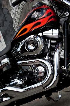 Harley-Davidson Dyna Wide Glide.