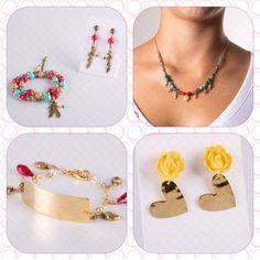 Lovely accessories @ www.kiura.com.co Escoge los que más de adapten a tu estilo en www.kiura.com.co ¡Cómpralos hoy y úsalos el fin de semana!  #accesorios #accessories #joyas #jewelry #collares #necklaces #bracelets #brazaletes #pulseras #aretes #aretas #earrings #combos #complementos #estilo #style #beautiful #lindo #lovely #nice #women #kiuratyle