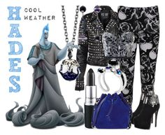 """""""Hades"""" by janastasiagg ❤ liked on Polyvore featuring Stephen Webster, WearAll, Topshop, Iron Fist, Eshvi and Sophie Hulme"""