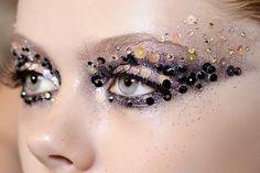 Maquillajes de noche inspirados en la alta costura: Dior