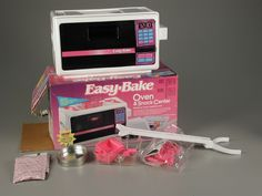 Easy-Bake OVen!!! Every lil girl wanted one of these! My sister got one it was awesome! Now you cant get us in the Kitchen if you paid us! :-P
