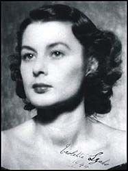 """Violette Szabo – """"The Bravest of Us All"""", an undercover secret agent for the SOE (Special Operations Executive) in Occupied France during World War Two. After completing two special missions, she was captured by the Germans and executed in 1945."""