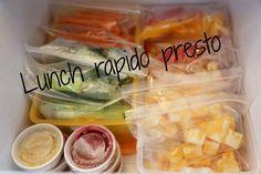 Cinq Fourchettes etc.: Mes trucs pour des lunchs rapido presto (et pas chers!)