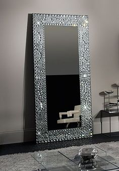 afd72b3338 Waterford Crystal John Rocha Solas Floor Mirror ~ Stunning... and only   44