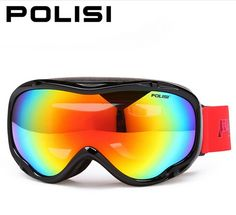 37.82$  Buy now - POLISI Ski Goggles Double Polarized Light Mountaineering Breathable Double Anti-Fog Ski Goggles Ski Glasses  #magazineonlinebeautiful