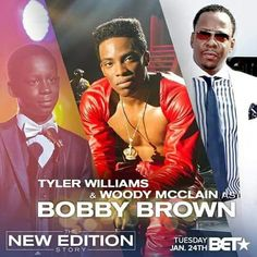 Bobby Brown -Tyler, Woody and Mr. Brown