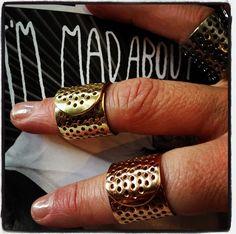 Jennifer Fisher Band Aid Rings