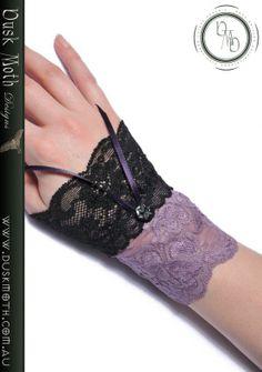 Dusk Moth Designs - Stretch Lace Cuffs