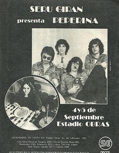 seru giran peperina : seru giran presenta peperina bueno publicidad de la presentación en obras del álbum peperina esto es de 1981 | ahorayya2