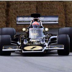 E F. + Lotus72 - Goodwood jul2019 Lotus F1, Sport, Formula One, Car Stuff, Le Mans, Black Beauty, Emerson, Grand Prix, Race Cars