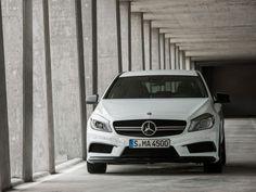 Mercedes-Benz, Mercedes Benz A 45 Amg Awesome Front Look: 2013 Mercedes-Benz a 45 in Hatchback Design