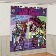 Monster High Wall Decorating Kit Scene Setter: A great girls birthday theme with attitude! Celebrate with the girls and ghouls from Monster High. Fun Party Themes, Birthday Party Themes, Party Ideas, Birthday Ideas, 7th Birthday, Birthday Board, Diy Party, Gift Ideas, Monster High Party Supplies
