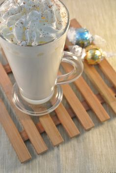 witte warme chocolademelk warme dranken