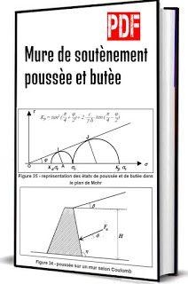 Mure De Soutenement Poussee Et Butee Pdf Civil Engineering Design Engineering Design Autocad
