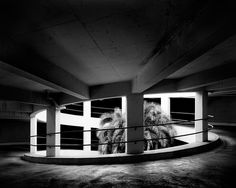Partnering with artists to promote their work online. Produced by Andy Adams. Black White Photos, Black And White Photography, Built Environment, Parking Lot, How To Take Photos, Palm, Stairs, David, Construction