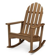 POLYWOOD ADRC100 Classic Adirondack Outdoor Rocking Chair