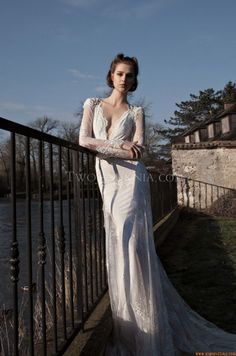 Robe de mariée Inbal Dror BR-13-27 Paris 2013