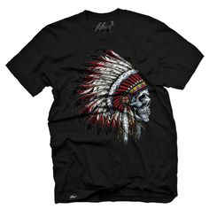 Chief Skull Men's T Shirt | Fifty5 Clothing