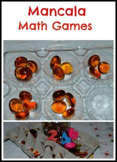Mancala Math games.  My kiddo's love Mancala.