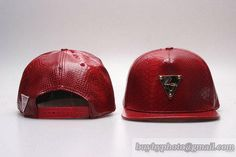 Hater Leather Snapback Hats Caps Wine Snake 53 7e2899057c3