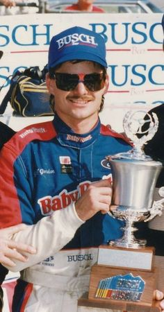 A very young Jeff Gordon