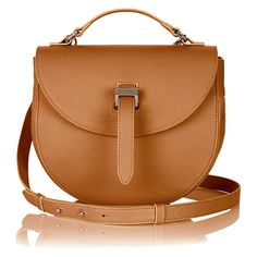 meli melo Women's Ortensia Mini Cross Body Bag - Tan (1.430 BRL) ❤ liked on Polyvore featuring bags, handbags, shoulder bags, tan crossbody, tan purse, crossbody handbag, mini crossbody handbags and tan shoulder bag